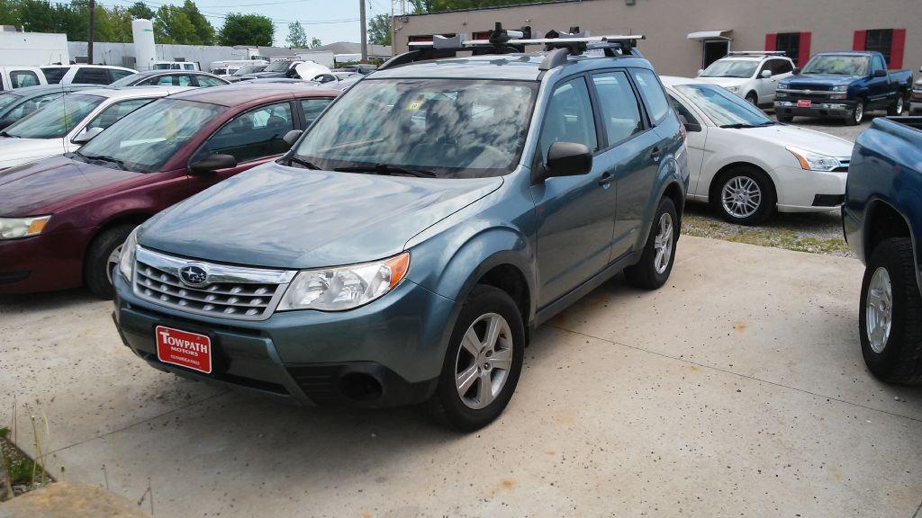 2011 Subaru Forester for sale at Towpath Motors | Used Car Dealer in Peninsula Ohio