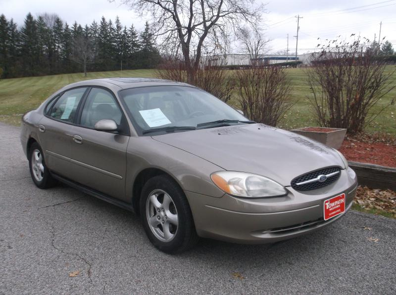 2002 Ford Taurus for sale at Towpath Motors | Used Car Dealer in Peninsula Ohio