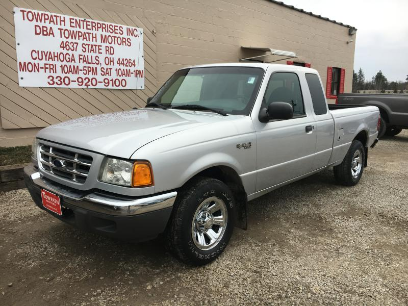 2002 Ford Ranger for sale at Towpath Motors | Used Car Dealer in Peninsula Ohio