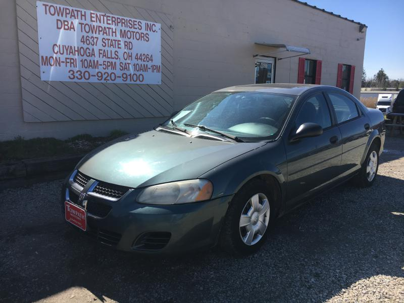 2004 Dodge Stratus for sale at Towpath Motors | Used Car Dealer in Peninsula Ohio