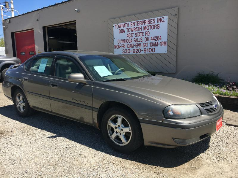 2003 Chevrolet Impala for sale at Towpath Motors | Used Car Dealer in Peninsula Ohio