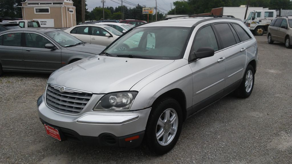 2005 Chrysler Pacifica for sale at Towpath Motors | Used Car Dealer in Peninsula Ohio