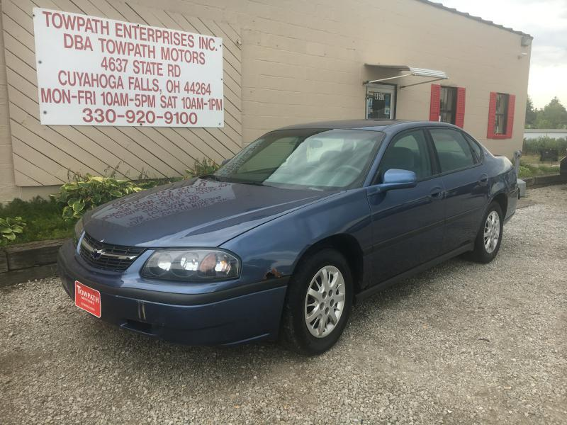 2000 Chevrolet Impala for sale at Towpath Motors | Used Car Dealer in Peninsula Ohio
