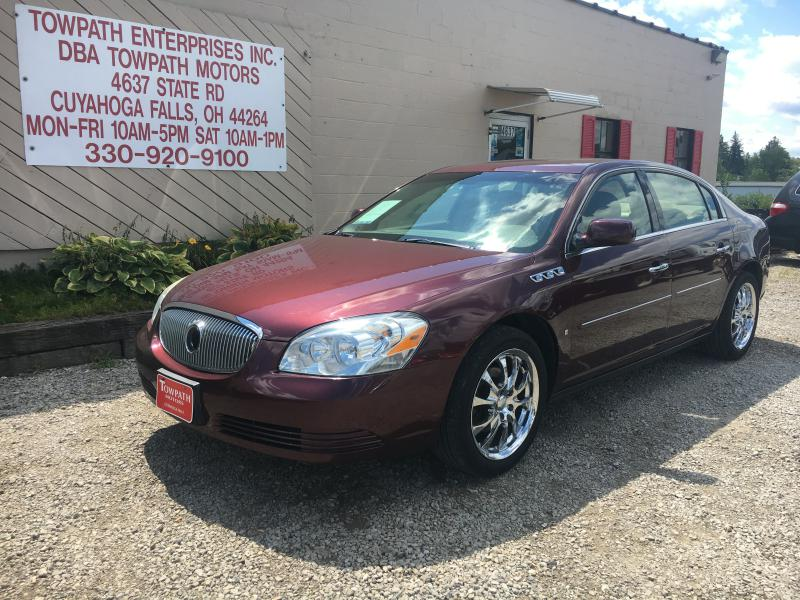 2006 Buick Lucerne for sale at Towpath Motors | Used Car Dealer in Peninsula Ohio