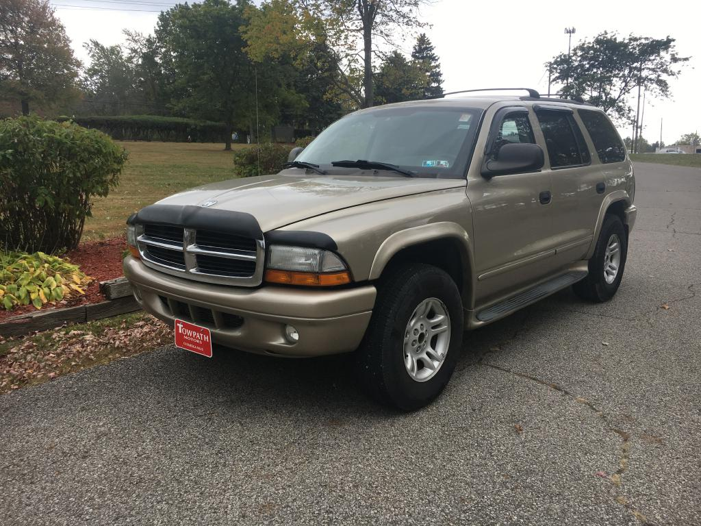 2003 Dodge Durango for sale at Towpath Motors | Used Car Dealer in Peninsula Ohio