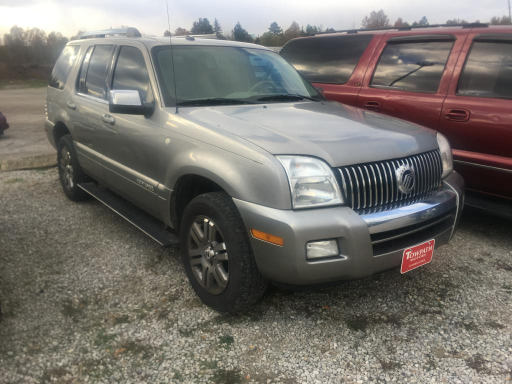2008 Mercury Mountaineer for sale at Towpath Motors | Used Car Dealer in Peninsula Ohio