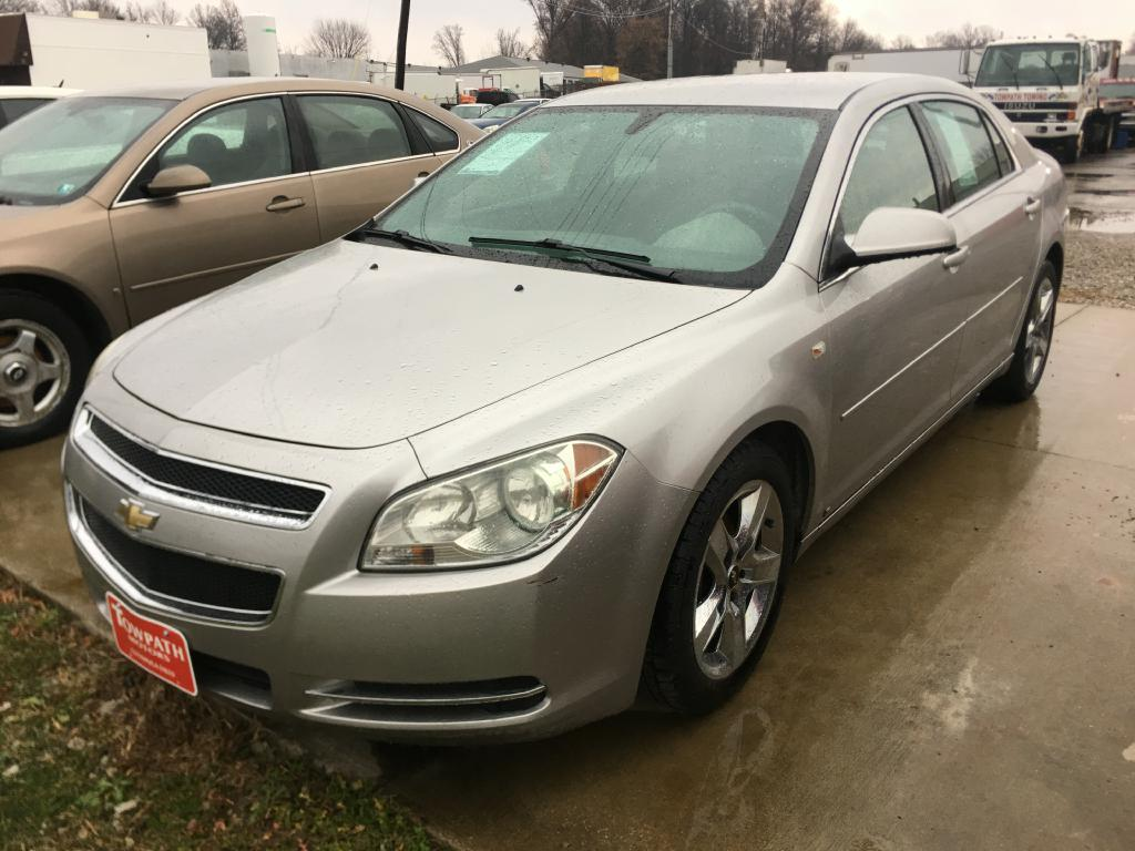 2008 Chevrolet Malibu for sale at Towpath Motors | Used Car Dealer in Peninsula Ohio