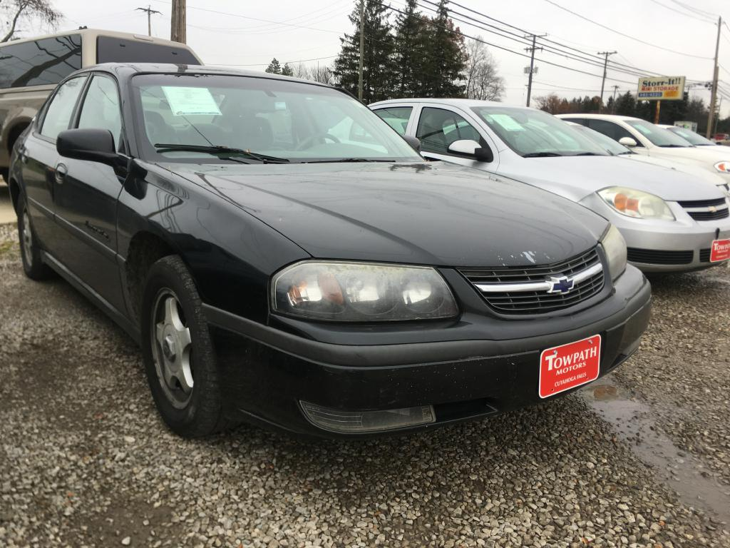 2001 Chevrolet Impala for sale at Towpath Motors | Used Car Dealer in Peninsula Ohio