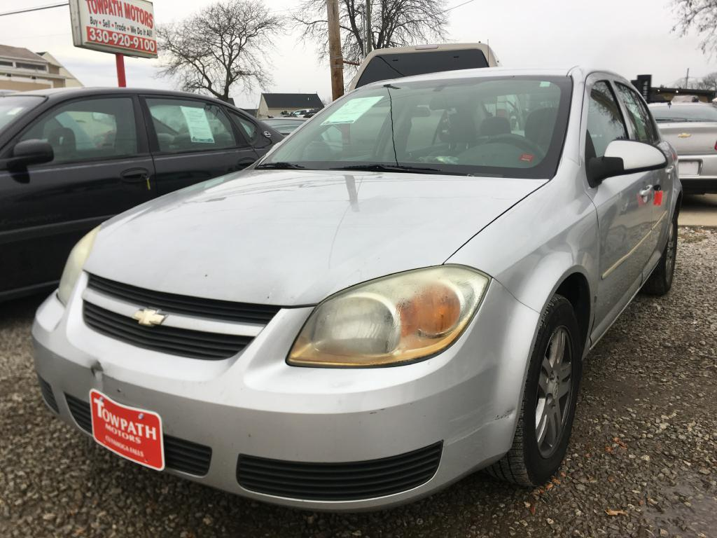 2005 Chevrolet Cobalt for sale at Towpath Motors | Used Car Dealer in Peninsula Ohio