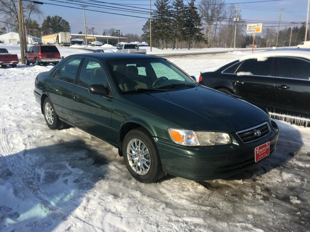 2001 Toyota Camry for sale at Towpath Motors   Used Car Dealer in Peninsula Ohio