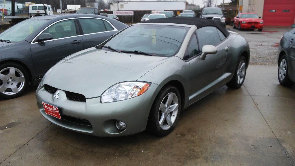 2008 Mitsubishi Eclipse for sale at Towpath Motors | Used Car Dealer in Peninsula Ohio