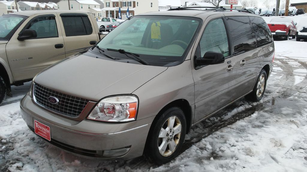 2005 Ford Freestar for sale at Towpath Motors | Used Car Dealer in Peninsula Ohio