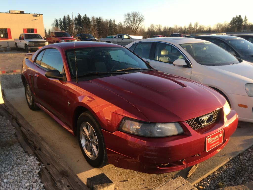 2003 Ford Mustang for sale at Towpath Motors | Used Car Dealer in Peninsula Ohio