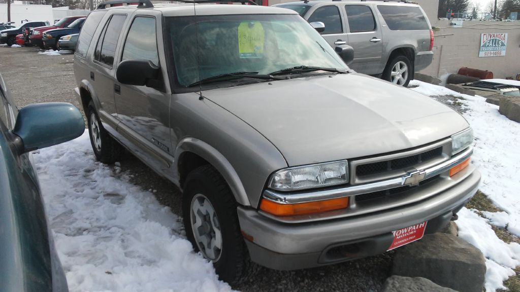 2002 Chevrolet Blazer for sale at Towpath Motors | Used Car Dealer in Peninsula Ohio