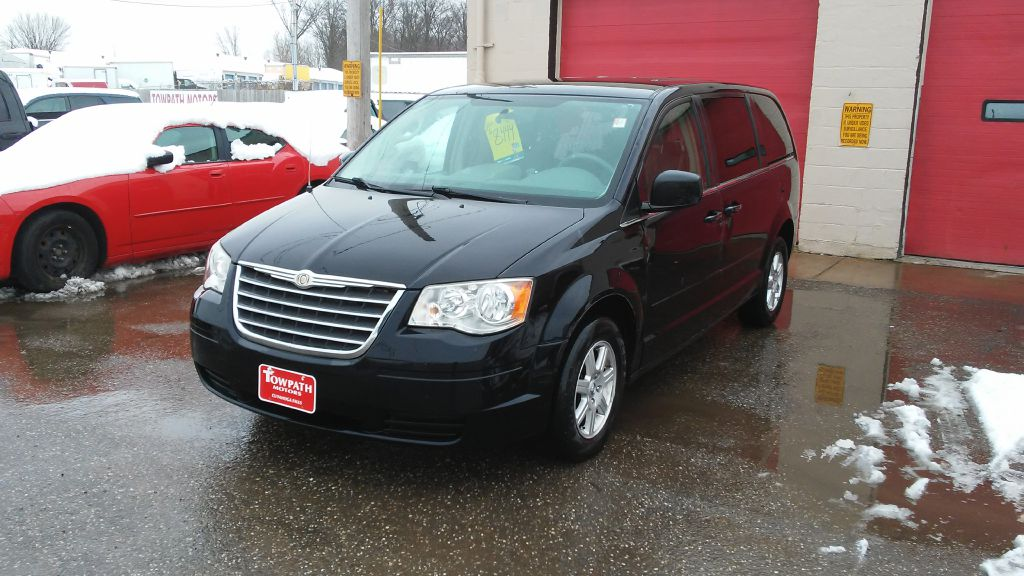 2010 Chrysler Town & Country for sale at Towpath Motors | Used Car Dealer in Peninsula Ohio