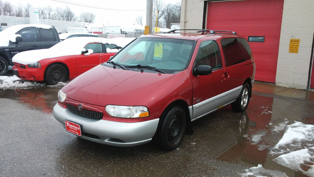 2000 Mercury Villager for sale at Towpath Motors | Used Car Dealer in Peninsula Ohio