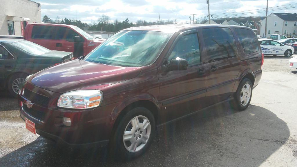 2008 Chevrolet Uplander for sale at Towpath Motors | Used Car Dealer in Peninsula Ohio