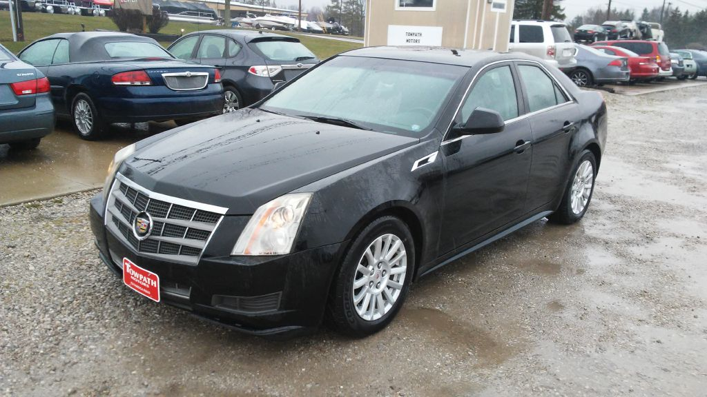 2011 Cadillac Cts for sale at Towpath Motors | Used Car Dealer in Peninsula Ohio
