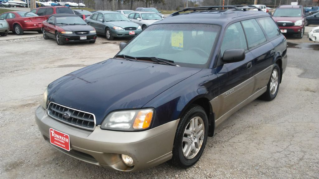 2004 Subaru Legacy for sale at Towpath Motors | Used Car Dealer in Peninsula Ohio