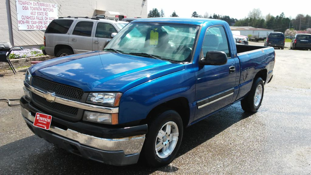 2004 Chevrolet Silverado 1500 for sale at Towpath Motors | Used Car Dealer in Peninsula Ohio