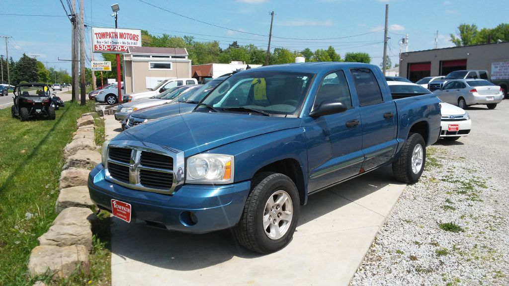 2005 Dodge Dakota for sale at Towpath Motors | Used Car Dealer in Peninsula Ohio