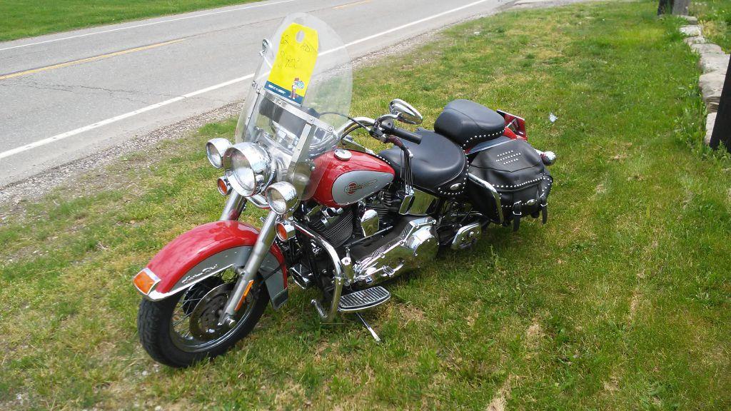 2002 Harley Davidson Heritage for sale at Towpath Motors | Used Car Dealer in Peninsula Ohio