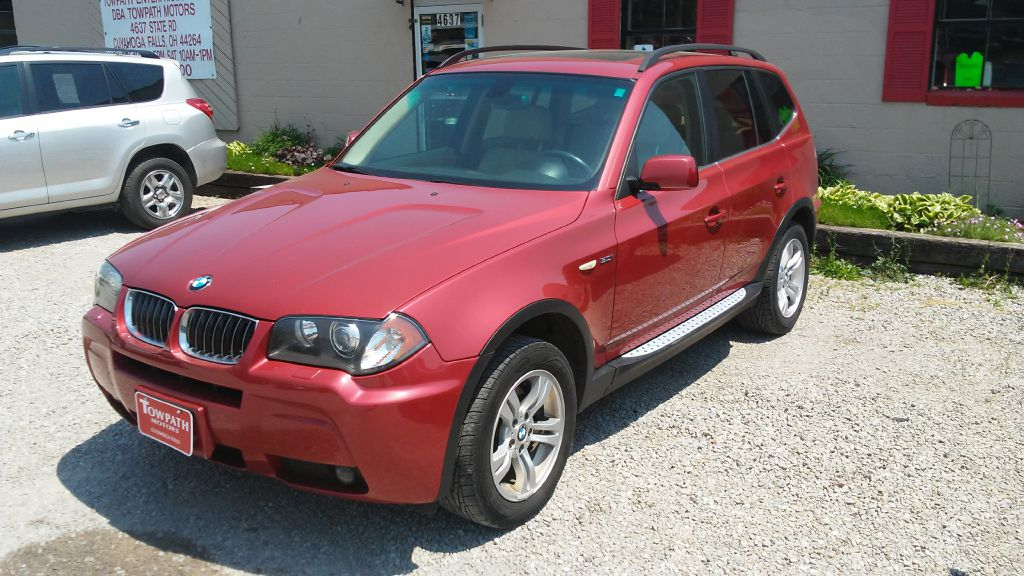 2006 Bmw X3 for sale at Towpath Motors   Used Car Dealer in Peninsula Ohio