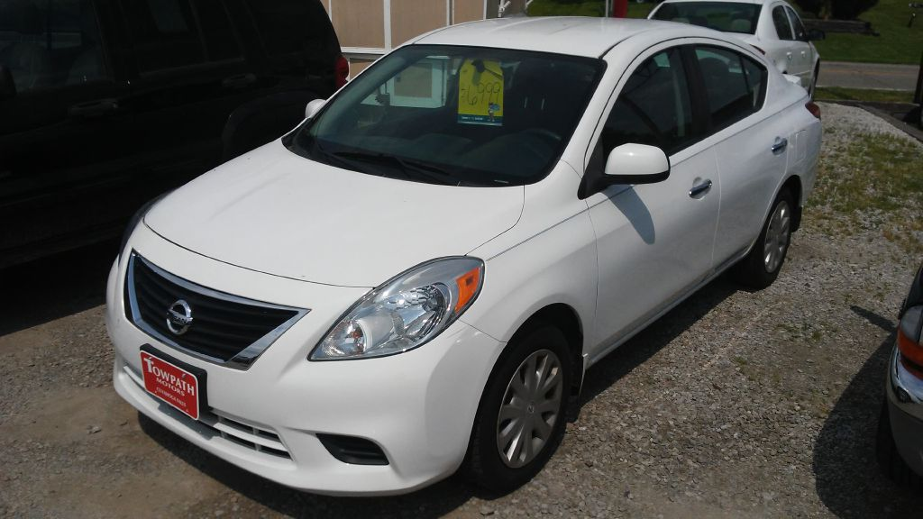 2013 Nissan Versa for sale at Towpath Motors | Used Car Dealer in Peninsula Ohio
