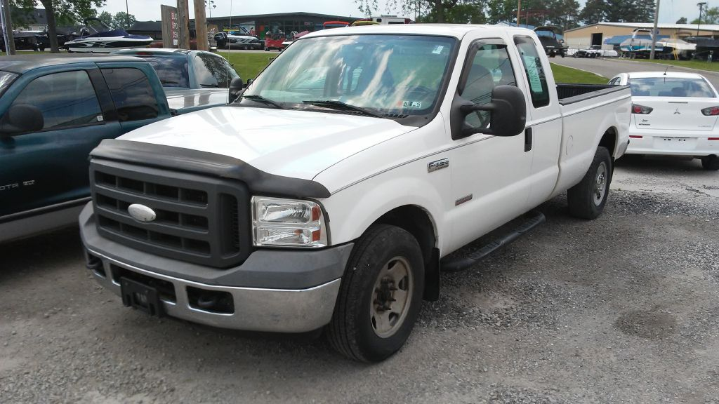 2005 Ford F250 for sale at Towpath Motors | Used Car Dealer in Peninsula Ohio