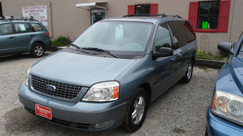2004 Ford Freestar for sale at Towpath Motors | Used Car Dealer in Peninsula Ohio