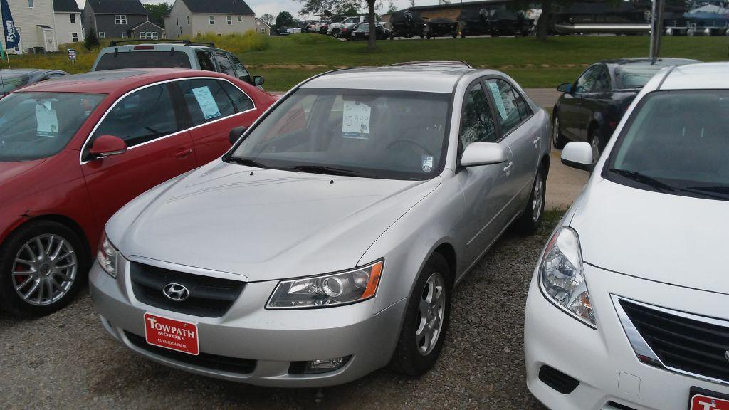 2006 Hyundai Sonata for sale at Towpath Motors   Used Car Dealer in Peninsula Ohio