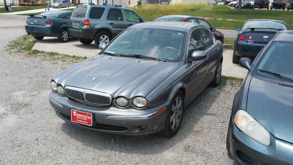2004 Jaguar X-type for sale at Towpath Motors | Used Car Dealer in Peninsula Ohio