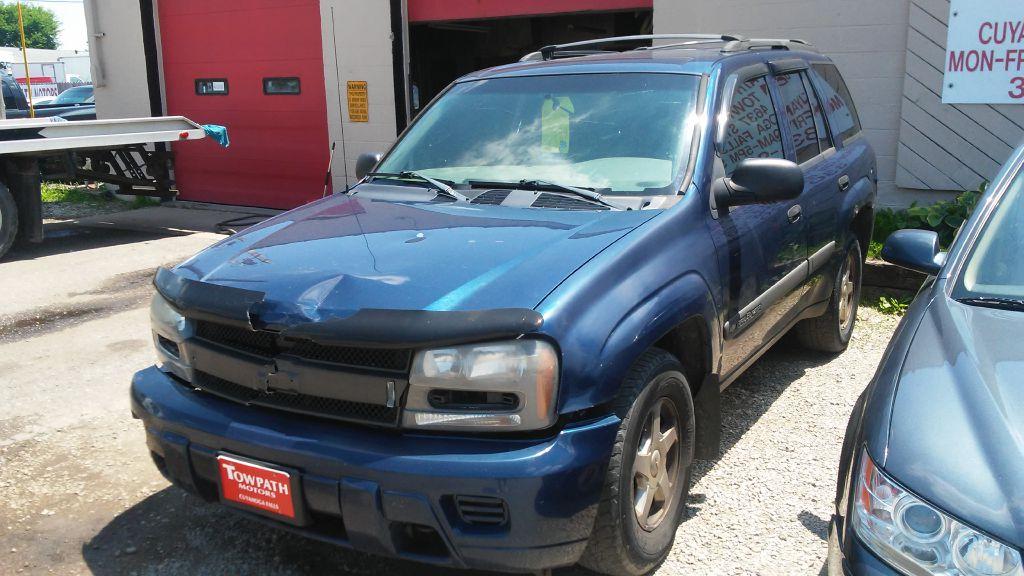 2003 Chevrolet Trailblazer for sale at Towpath Motors | Used Car Dealer in Peninsula Ohio