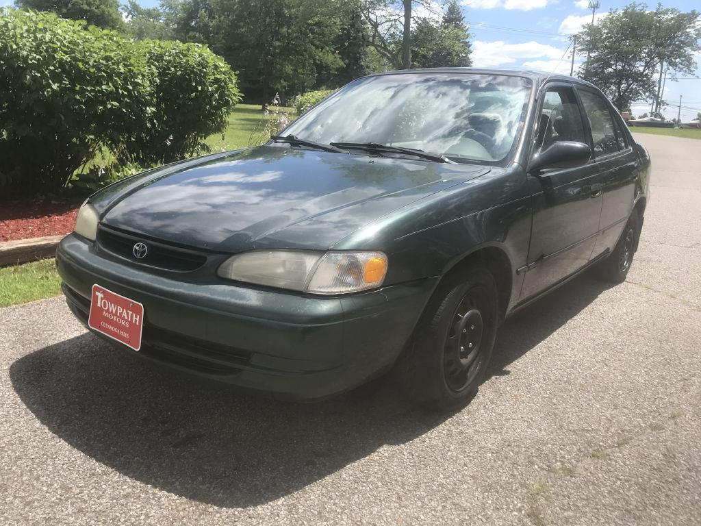 2000 Toyota Corolla for sale at Towpath Motors | Used Car Dealer in Peninsula Ohio