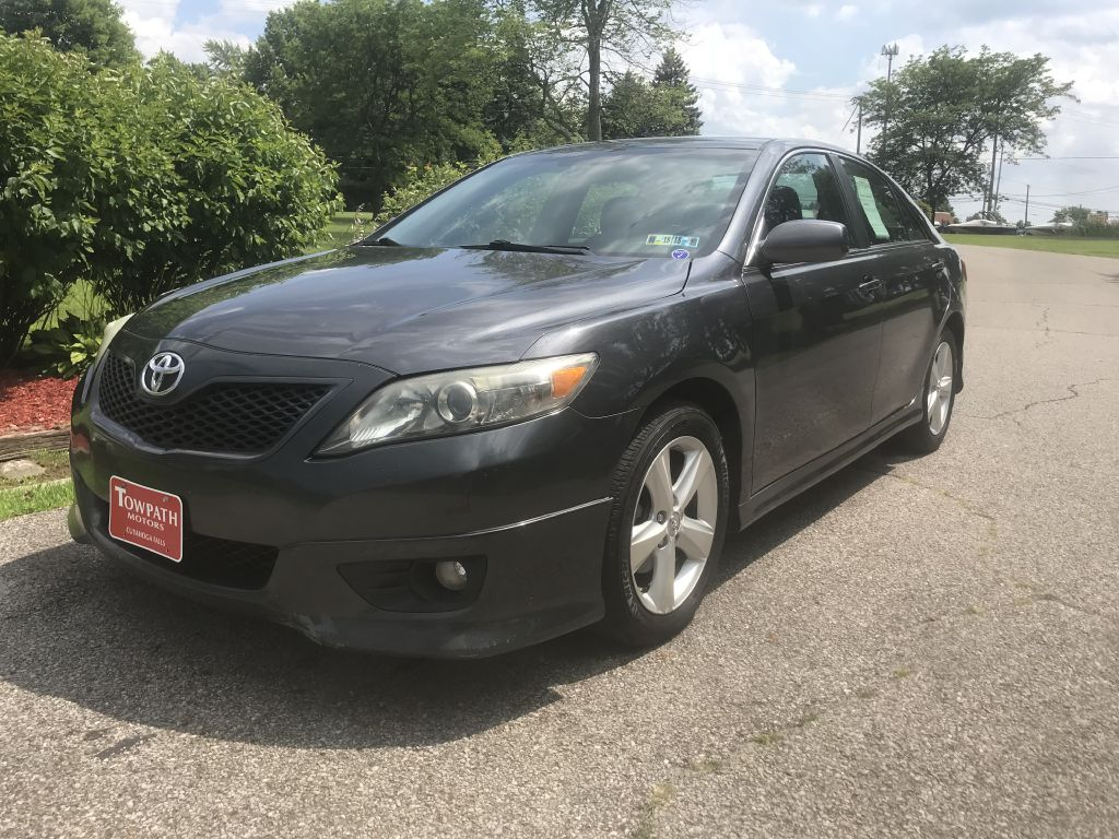 2010 Toyota Camry for sale at Towpath Motors | Used Car Dealer in Peninsula Ohio