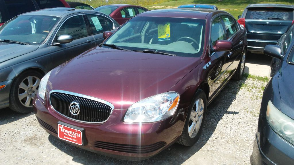 2007 Buick Lucerne for sale at Towpath Motors | Used Car Dealer in Peninsula Ohio