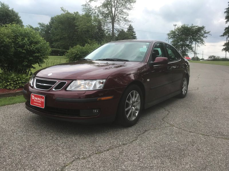 2003 Saab 9-3 for sale at Towpath Motors | Used Car Dealer in Peninsula Ohio