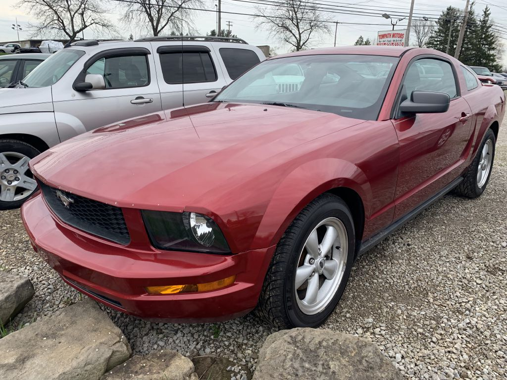 2006 Ford Mustang for sale at Towpath Motors | Used Car Dealer in Peninsula Ohio