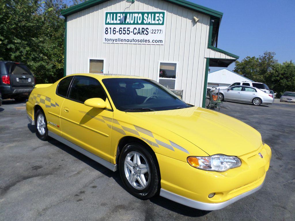 2002 CHEVROLET MONTE CARLO 2G1WX15K929323440 ALLEN AUTO SALES LLC