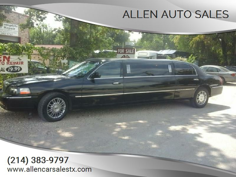 2008 LINCOLN TOWN CAR 2L1FM88W68X642111 ALLEN AUTO SALES