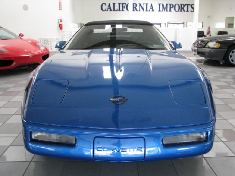 1991 CHEVROLET CORVETTE CONVERTIBLE Convertible Top Bra Included Air Conditioning Power Windows