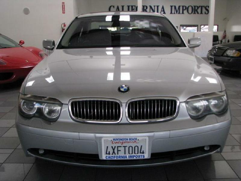 2002 BMW 745I I ABS BrakesAir ConditioningAlloy WheelsAMFM RadioAnti-Brake System 4-Wheel AB