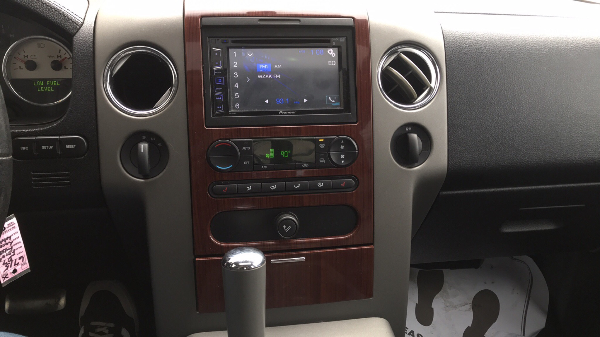 2007 FORD F150 LARIOT SUPERCREW for sale at Tradewinds Motor Center