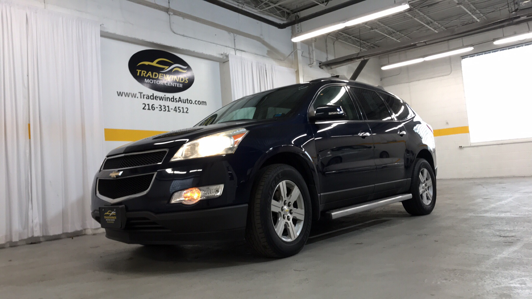 2011 CHEVROLET TRAVERSE LT for sale at Tradewinds Motor Center