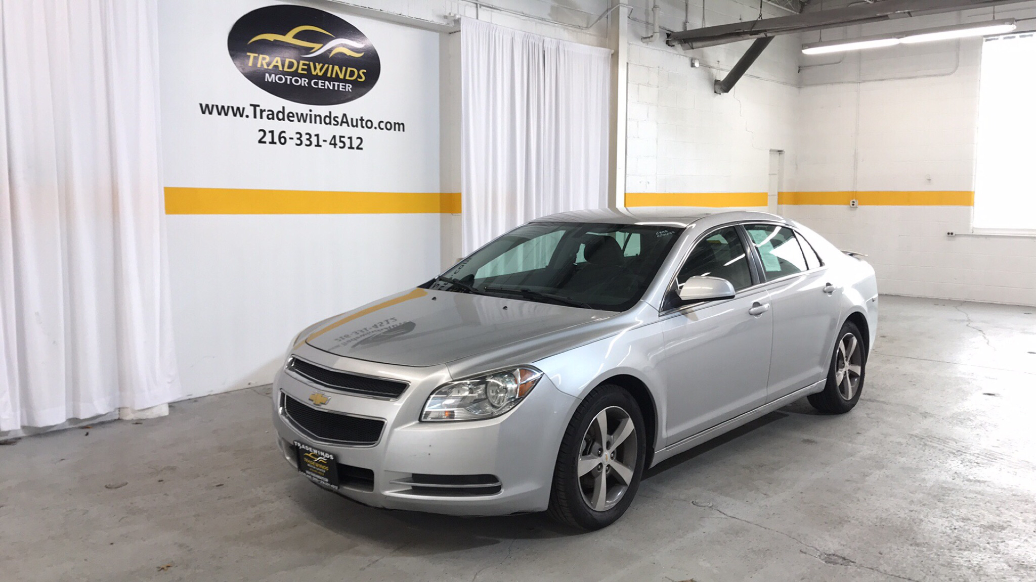 2011 CHEVROLET MALIBU 1LT for sale at Tradewinds Motor Center