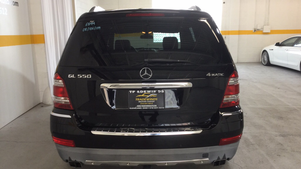 2008 MERCEDES-BENZ GL 550 4MATIC for sale at Tradewinds Motor Center