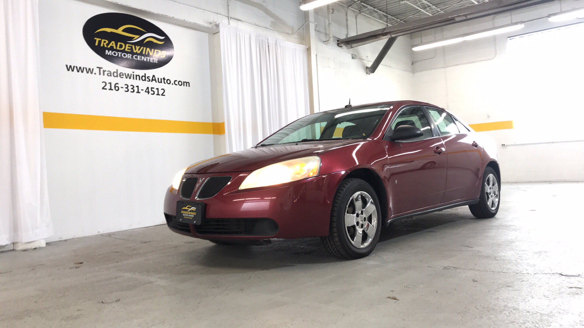 2008 PONTIAC G6 VALUE LEADER for sale at Tradewinds Motor Center