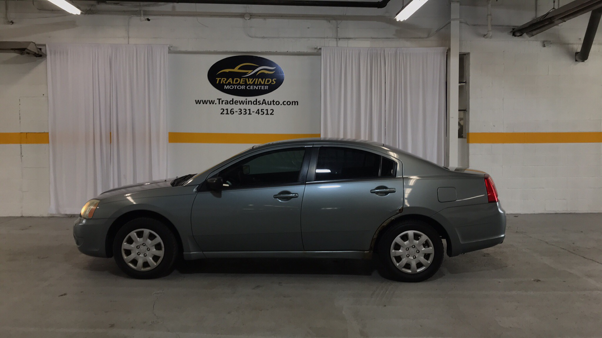 2007 MITSUBISHI GALANT ES for sale at Tradewinds Motor Center