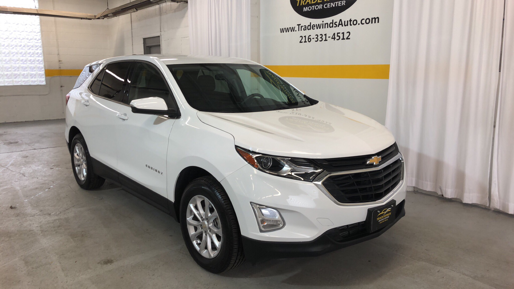 2018 CHEVROLET EQUINOX LT for sale at Tradewinds Motor Center