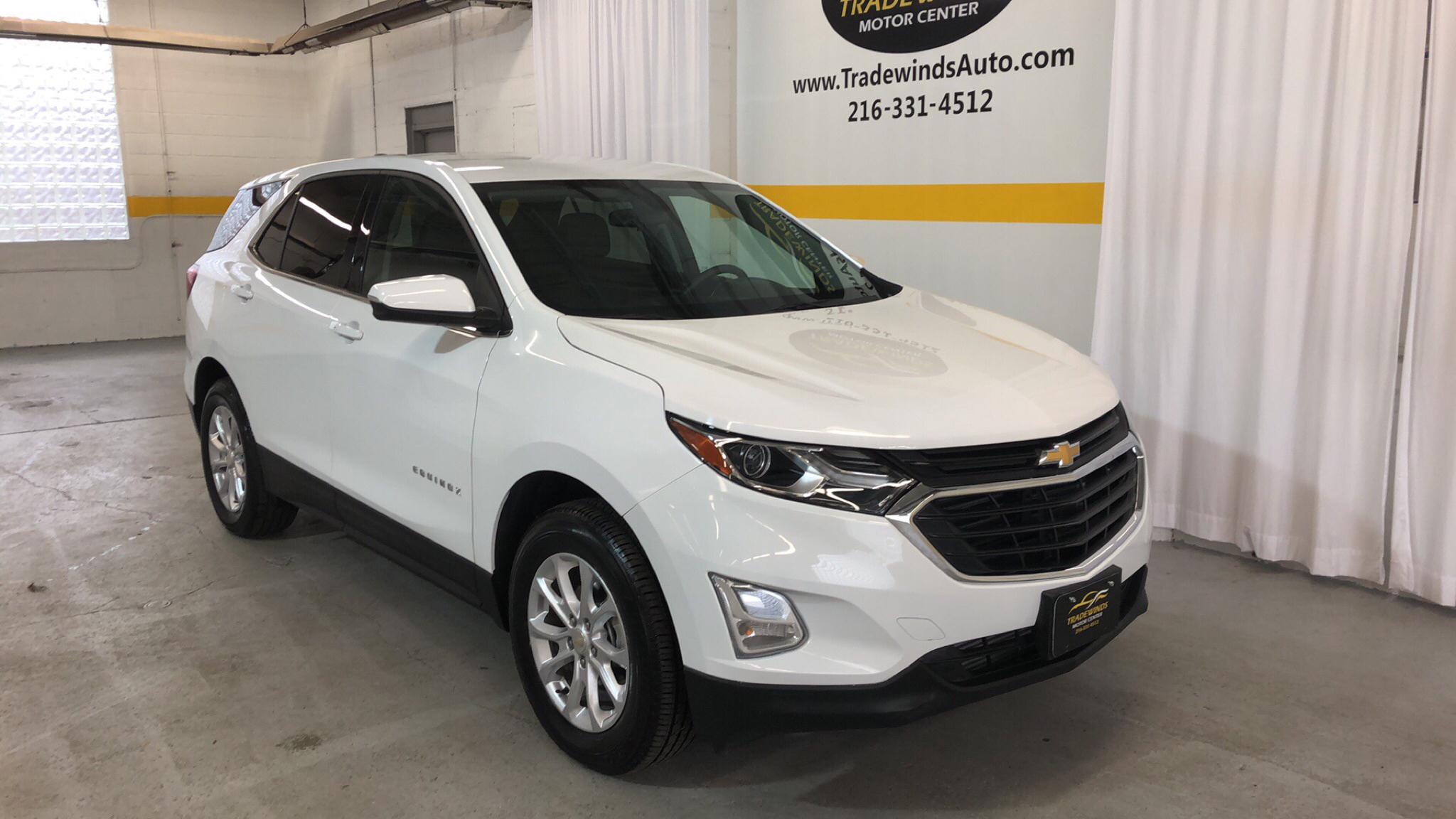 2018 CHEVROLET EQUINOX LT for sale at Tradewinds Motor Center